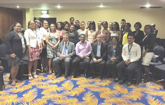 Vice President Faure holds consultative meeting with Seychellois students studying in Botswana