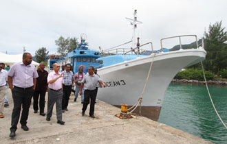 """We all have a stake in the Blue Economy"" – The first Seychellois industrial longliner fleet"