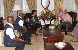 President Michel meets with Head of SADC Election Observation Mission