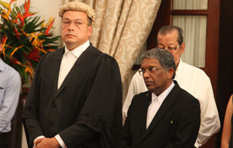 Seychelles Attorney General and Justice of Appeal sworn into office