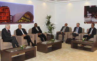 Seychelles President in talks with bilateral partners in margins of Second Blue Economy Summit