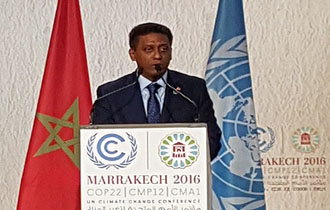 National Statement By Mr. Danny Rollen Faure President of the Republic of Seychelleson the occasion of COP22/CMP12/CMA1 - High Level Segment
