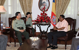 Seychelles to Boost Military Cooperation with China