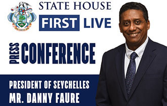 President Faure Holds National Press Conference