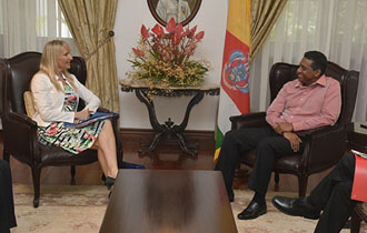 Seychelles and EU Committed to Bolstering Relations