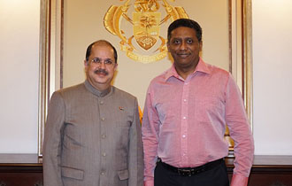 New High Commissioner of India to Seychelles Accredited