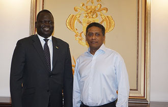 First Ambassador of South Sudan Accredited