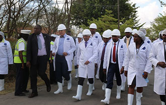 Updated Press Release - President Faure visits Kenya Meat Commission