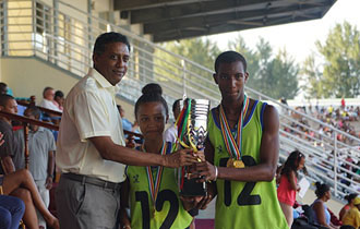 President Faure attends 41st National Schools' Athletics Championships