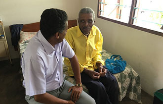President Faure pays surprise visit to Elderly Home at Grand Anse, Praslin