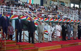 Seychelles Commemorates 41st Anniversary of Independence and National Day during Military Parade