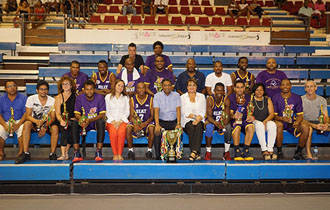 Beau Vallon Heat Winner of the National Day Basketball Tournament