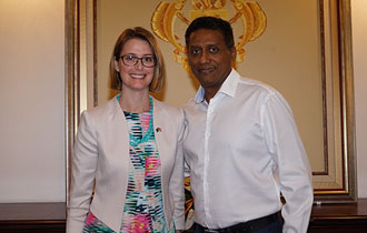Accreditation of New High Commissioner for Australia to Seychelles