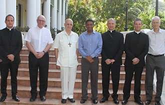 President Faure Receive delegation from the Episcopal Conference of the Indian Ocean