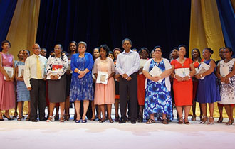President Faure attends Teachers Awards Presentation Ceremony
