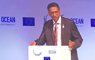President Danny Faure delivers new commitment to safeguarding our Oceans