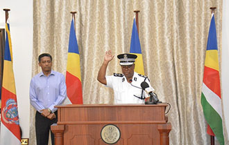 New Commissioner of Police Sworn in