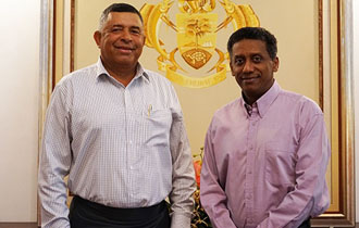 High Commissioner of the Republic of Fiji Accredited