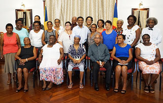 President Faure celebrates retirees for long years of service