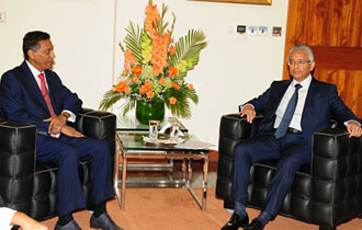 Seychelles and Mauritius Committed to Bolstering Relations