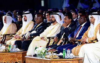 President Faure participated in the first day of the Africa Global Business Forum 2017