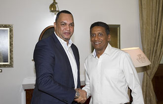 President Faure meets first Seychellois General Manager of IOT