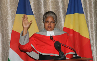 Judge Ellen Carolus sworn-in as Judge of the Supreme Court