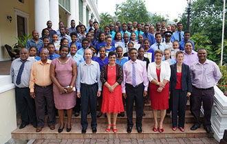44 Seychellois Youths receive the Gold Standard of the Duke of Edinburgh's International Award