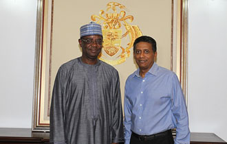 New Nigerian High Commissioner Accredited