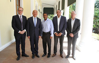 Seychelles President receives Delegation from Thai Union