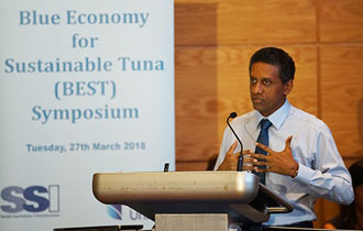 President Faure attends Official Opening of the Blue Economy Sustainable Tuna in Seychelles Symposium