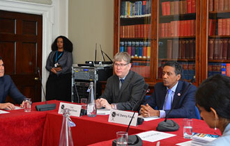 President Faure delivers remarks at Chatham House