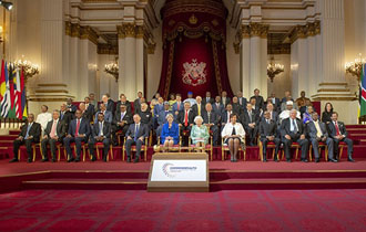 President Faure attends Formal Opening of CHOGM 2018