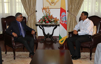 Courtesy Call by Mauritian Minister for Industry, Commerce, and Consumer Protection