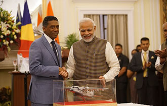 Cooperation between Seychelles and India takes new heights