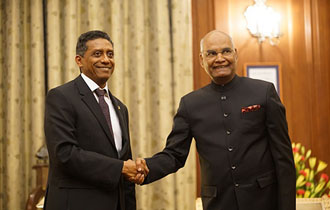 """The close bonds of friendship between India and Seychelles have stood the test of time"""