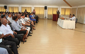 President Faure Meets Directors General and Directors  in the Public Service