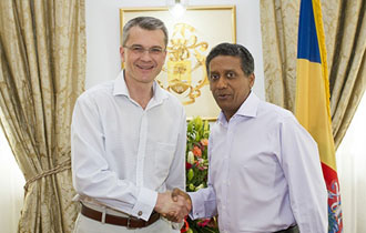 Farewell call by Czech Ambassador to Seychelles