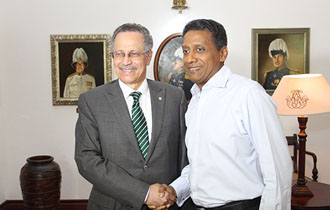 Secretary General of ACP paid courtesy call on the President