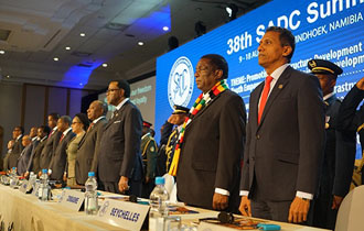The Seychelles President expounded on the theme of the 38th SADC Summit