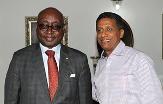 President Faure receives former President of the African Development Bank