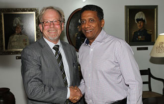 Courtesy Call by World Bank Country Director for Seychelles