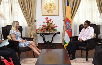 Courtesy Call by the EU Ambassador to Seychelles