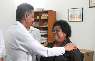 President Faure visits the Seychelles Judiciary