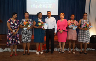 President Faure attends Long Service Award Ceremony for Social Workers