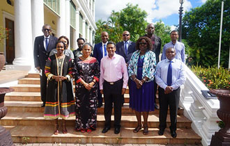 President Faure receives United Nations Country Team at State House