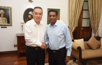 President Faure receives SMAR Delegation from China