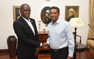 High Commissioner of Botswana to Seychelles Accredited