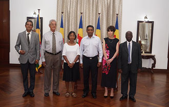 Chairperson and Commissioners of the Truth, Reconciliation and National Unity Commission Sworn in