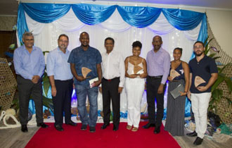 President Faure attends IDC Outer Islands Clean-Up Awards Ceremony